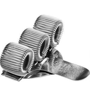 Terry Clip Voor 3 Pennen En/Of Potloden Zilver