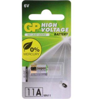 GP Hoog voltage alkaline rondcel 11A (MN11), blister 1