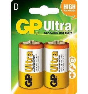 GP Alkaline Ultra D Mono, Grote staaf, Blister 2