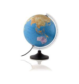 Wereldbol Globe Solid Line Nederlandstalig
