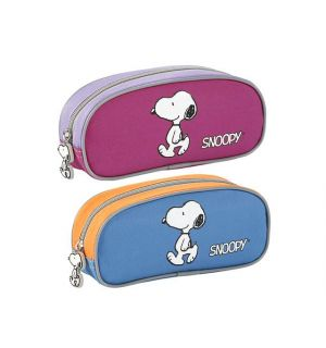 !Penetui Viquel Snoopy 200X90X50 Ass. Blauw En Roze