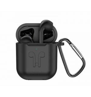 Hoco ES32 Plus Draadloze oordopjes Zwart - Wireless Charging Case - Zwarte hoes
