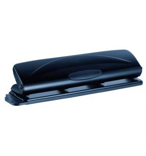 Perforator 4-Gaats Alco Zwart, Voor Max. 15 Vellen Papier