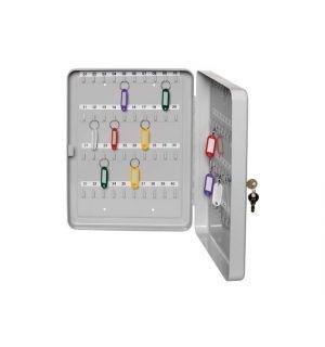 Sleutelkast Alco 200X160X80Mm Grijs Voor 20 Sleutels