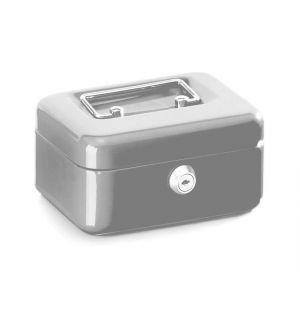Geldkistje Alco 152X118X76Mm Staal Zilver