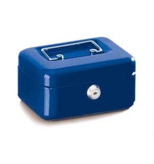 Geldkistje Alco 152X118X76Mm Staal Blauw