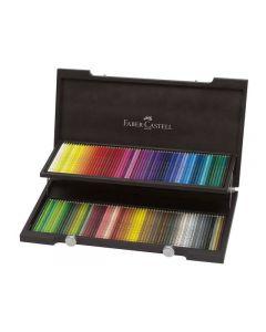 Faber Castell Polychromos Kleurpotloden 120 Stuks Houtenkoffer